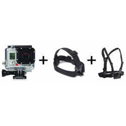 LOCATION HERO 3 PACK, GOPRO