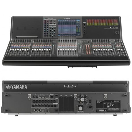 CL5 + RACK RIO 64 in / 32 out / 8 AES....YAMAHA