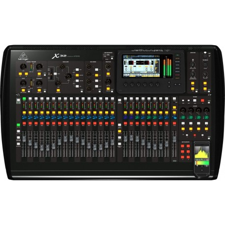 LOCATION X32 BEHRINGER BY MIDAS