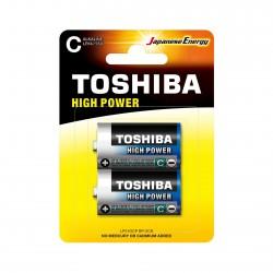 Piles LR14 - Pack de 2 TOSHIBA